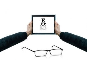 老眼による疲れ目を最小限に抑える